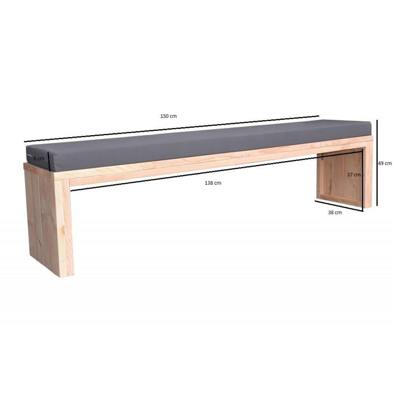 Schuine inbouw kast met bureau