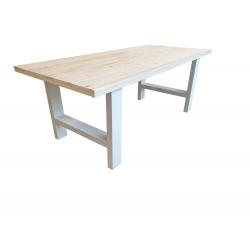 Tafel industrieel steigerhout