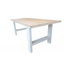 Industriële tafel steigerhout