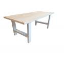 Industriele tafel steigerhout
