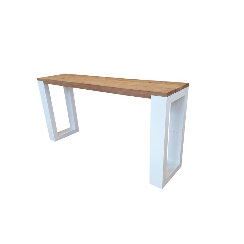 Wood4you - Side table enkel Roasted...