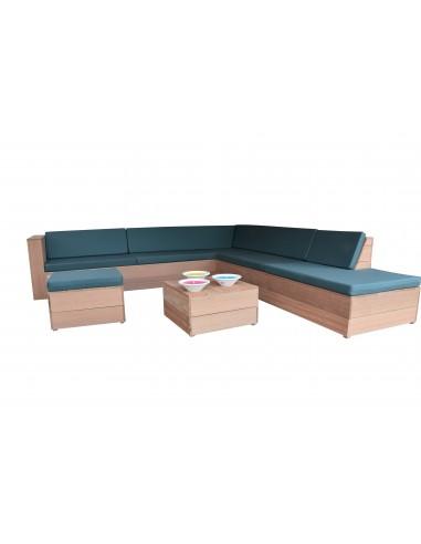 Wood4you - Loungeset 7 Bankirai...