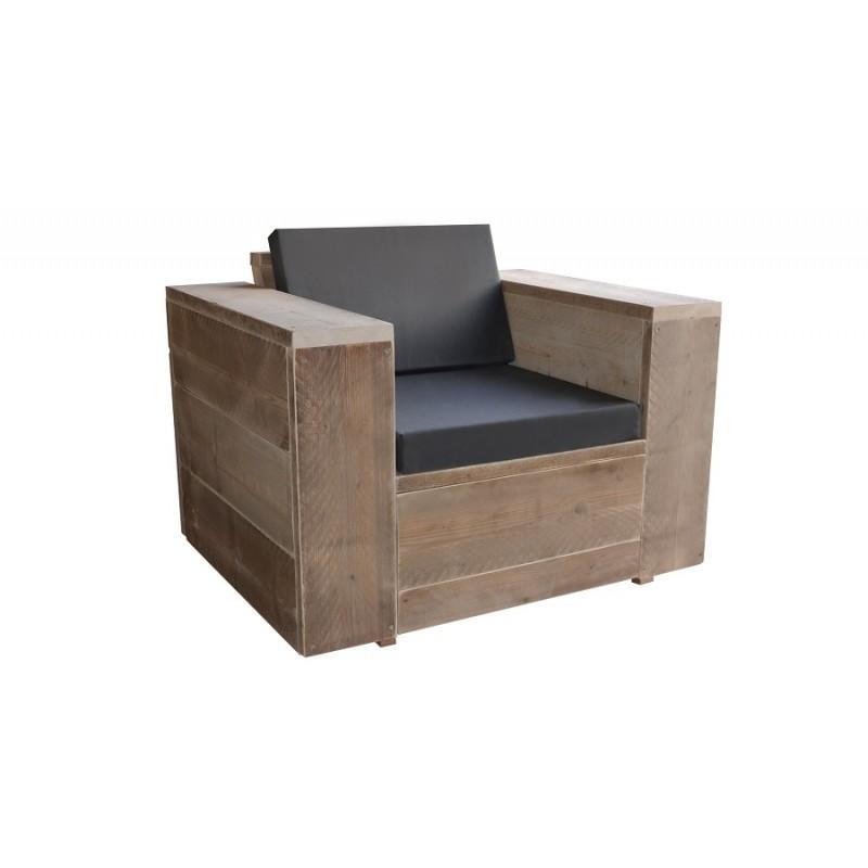 Wood4you - Loungestoel Washington...